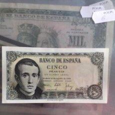Monedas Franco: BILLETE 5 PESETAS ESPAÑA 1951. Lote 54141759