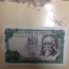 Monedas Franco: BILLETE ESPAÑA 1000 PESETAS 1971. Lote 54142137