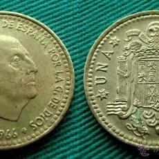 Monedas Franco: FRANCO 1 PESETA 1966 ESTRELLA 19-69; 1969. Lote 54399699