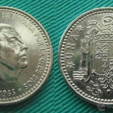 Monedas Franco: FRANCO 1 PESETA 1966 ESTRELLA 19-73, 1973. Lote 54399767