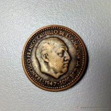 Monedas Franco: LOTE DE TRES MONEDAS DE 1 PESETA (FRANCO) AÑO 1947*49 / 1947*52 / 1947*53. Lote 54563626