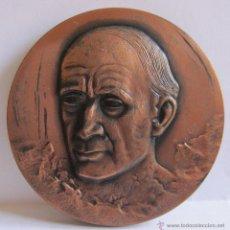 Monedas Franco: MEDALLA DE MARÈS CENTENARI NAIXEMENT JOSE CLARÀ AYATS 1878-1978. 6 CM. Lote 54846462
