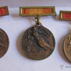 Monedas Franco: 3 MEDALLAS ALZAMIENTO VICTORIA. ESPAÑA. EJÉRCITO NACIONAL. 1936-1939. GUERRA CIVIL ESPAÑOLA. 3,20 CM. Lote 54846932