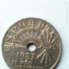 Monedas Franco: 2 CENTIMOS 1937. Lote 55136571