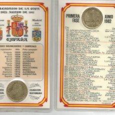 Monedas Franco: RARO CALENDARIO DEL MUNDIAL 1982. Lote 55361588