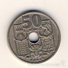 Monedas Franco: 50 CÉNTIMOS 1949 *51.- FLECHAS INVERTIDAS.-(2). Lote 55398630