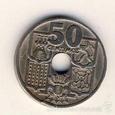 Monedas Franco: 50 CÉNTIMOS 1949 *51.- FLECHAS INVERTIDAS.-(6). Lote 55398917