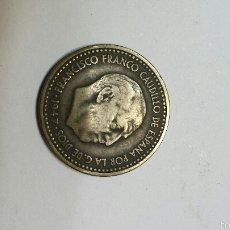 Monedas Franco: PESETA 1947 ESTRELLAS 19- 49. Lote 55937482
