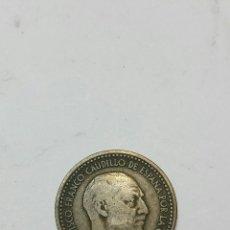 Monedas Franco: ANTIGUA PESETA 1947 ESTRELLAS 19-53. Lote 55937554