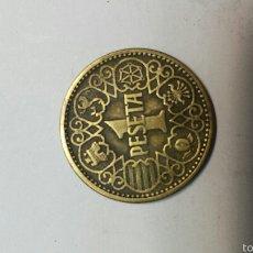 Monedas Franco: ANTIGUA PESETA 1944. Lote 55938072