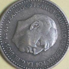 Monedas Franco: VALIOSA PESETA AÑO 1953 ESTRELLAS 19 54. Lote 56041801
