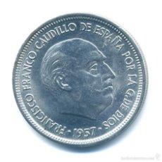 Monedas Franco: MONEDA DE 5 PESETAS 1957*69 -SIN CIRCULAR-. Lote 56324574
