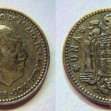 Monedas Franco: FRANCO 1 PESETA 1953*62. Lote 56402275
