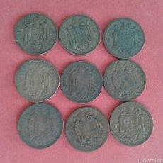 Monedas Franco: LOTE DE PESETAS DE 1944. Lote 57137121