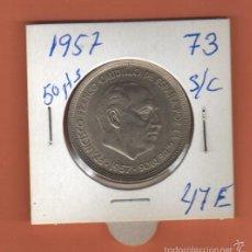 Monedas Franco: BONITA MONEDA 50 PESETAS ESTADO ESPAÑOL 1957 ESTRELLA (73).LEER DESCRIPCION . Lote 57887713