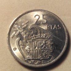 Monedas Franco: MONEDA 25 PESETAS FRANCO 1957 *65 SC. Lote 58018313
