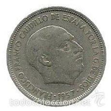 Monedas Franco: 5 PESETAS 1957 (*60) - ESTADO ESPAÑOL (FRANCO) EBC. Lote 58107276