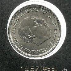 Monedas Franco: 50 PESETAS 1957 (*58) ESTADO ESPAÑOL (FRANCO) SC. Lote 58107824