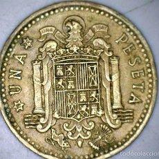 Monedas Franco: MONEDA 1 PESETA 1966 70* FRANCO CIRCULADA USADA. Lote 58231170