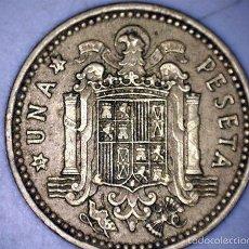 Monedas Franco: MONEDA 1 PESETA 1966 71* FRANCO CIRCULADA USADA. Lote 58231200