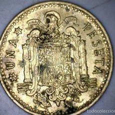 Monedas Franco: MONEDA 1 PESETA 1966 71* FRANCO CIRCULADA USADA. Lote 58231210