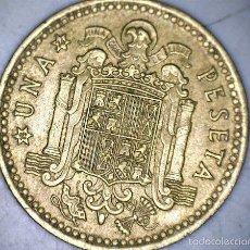 Monedas Franco: MONEDA 1 PESETA 1966 74* FRANCO CIRCULADA USADA. Lote 58231260