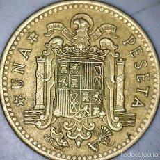 Monedas Franco: MONEDA 1 PESETA 1966 74* FRANCO CIRCULADA USADA. Lote 58231306