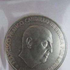 Monedas Franco: MONEDA FRANCO 1966 100 PESETAS ESTRELLAS 19 68. Lote 58323673