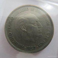 Monedas Franco: MONEDA 50 PESETAS 1957. Lote 58325454