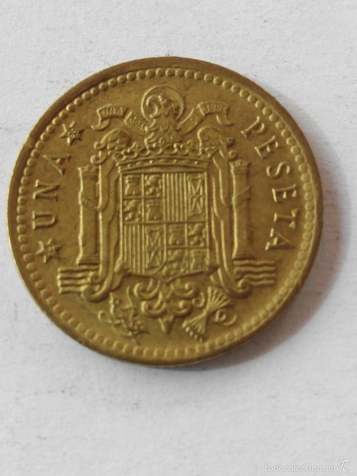 MONEDA ESPAÑA 1 PESETA 1966 *69 . EBC (Numismática - España Modernas y Contemporáneas - Estado Español)