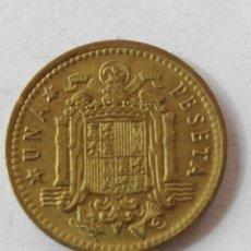 Monedas Franco: MONEDA ESPAÑA 1 PESETA 1966 *69 . EBC. Lote 58559766