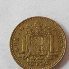 Monedas Franco: MONEDA ESPAÑA 1 PESETA 1966 *69 . MBC. Lote 58559776