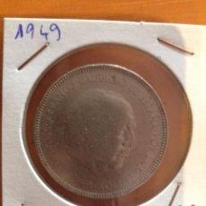 Monedas Franco: MONEDA FRANCISCO FRANCO 5 PESETAS 1949. Lote 59711123