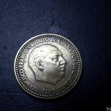 Monedas Franco: PESETA 1963 ESTRELLA 65 PERFECTAMENTE VISIBLE. Lote 60666499