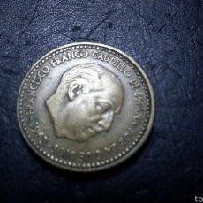 Monedas Franco: PESETA FRANCO 1963 *64 VISIBLE. Lote 60684041