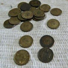 Monedas Franco: 25 MONEDAS DE 1 PESETAS DE FRANCO. Lote 62103216