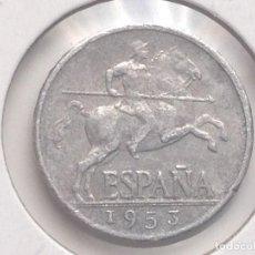Monedas Franco: MONEDA 5 CÉNTIMOS. 1953. JINETE ÍBERO. GENERAL FRANCO. ESPAÑA. Lote 62173388