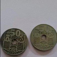 Monedas Franco: LOTE DE 4 MONEDAS 50 CENTIMOS 1949 * 51. Lote 64015099