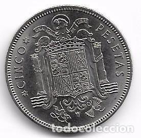 Monedas Franco: CINCO PESETAS FRANCO 1949 . ESTRELLA 49 - Foto 2 - 64451999