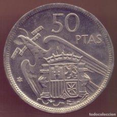 Monedas Franco: ESPAÑA SPAIN 50 PESETAS FCO. FRANCO 1957 * 60 KM 788 SC UNC. Lote 289791948