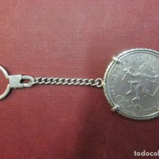 Monedas Franco: MONEDA Y LLAVERO DE PLATA : 25 PESOS MEXICO, OLIMPIADA 1968 34GR, EXCELENTE . Lote 65309847