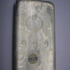 Monedas Franco: LINGOTE DE PLATA PURA DE 1 KILO, PESA 997,5 GRAMOS. Lote 66139022
