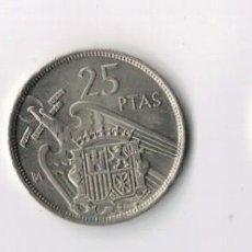 Monedas Franco: FRANCO - 1957 - 5 25 Y 50 PESETAS - BA - S/C - EXPOSICIÓN BARCELONA. Lote 67646485