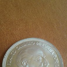 Monedas Franco: 50 PESETAS 1957 *67 1967 SIN CIRCULAR 10 DUROS FRANCO ESPAÑA SPAIN. ESTADO ESPAÑOL. DE CARTUCHO. Lote 193959655