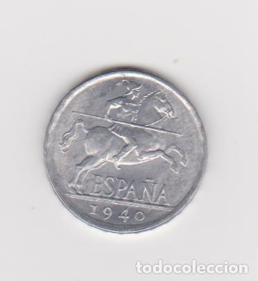 MONEDAS-ESTADO ESPAÑOL - 5 CÉNTIMOS 1940 (EBC+/EBC) (Numismática - España Modernas y Contemporáneas - Estado Español)