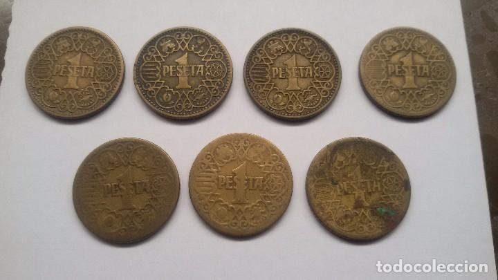 7 PESETAS DE 1944. LA DEL 1. (Numismática - España Modernas y Contemporáneas - Estado Español)