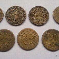 Monedas Franco: 7 PESETAS DE 1944. LA DEL 1.. Lote 68817741
