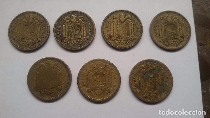 Monedas Franco: 7 pesetas de 1944. La del 1. - Foto 2 - 68817741