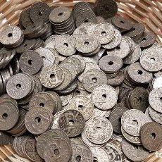 Monedas Franco: ESPAÑA LOTE 10 MONEDAS 50 CÉNTIMOS FCO. FRANCO 1949 & 1963 KM 777 MBC VF. Lote 79741851