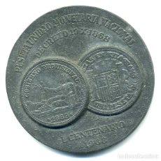 Monedas Franco: PRIMER CENTENARIO DE LA PESETA 1968 COMO UNIDAD MONETARIA EN ESPAÑA, BONITA PÁTINA NEGRA. Lote 69104661